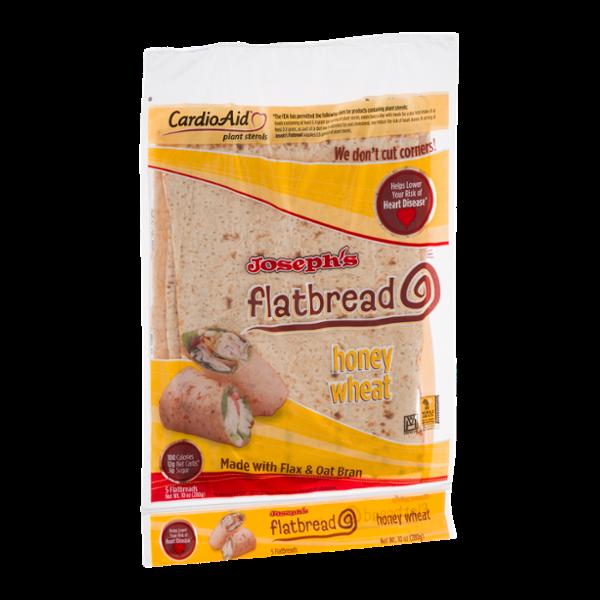 Joseph's Flatbread Honey Wheat - 5 CT