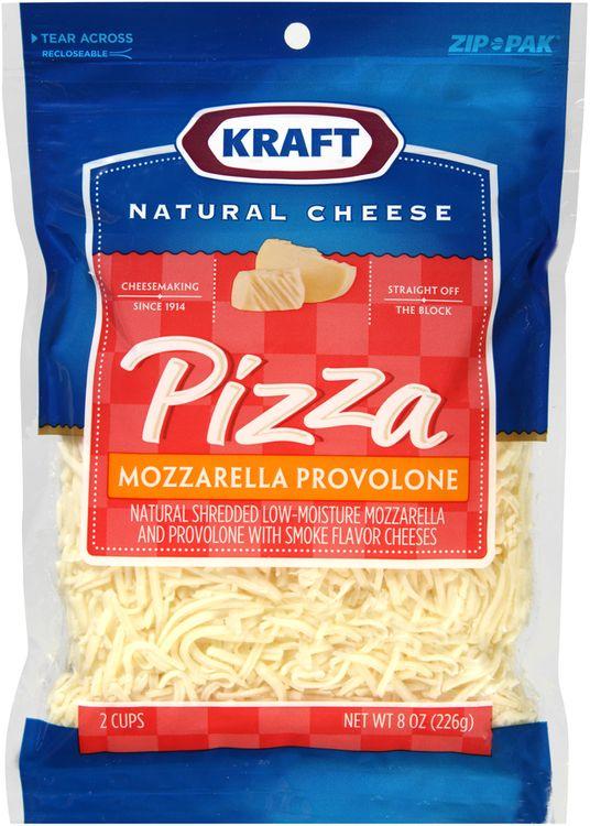 Kraft Natural Cheese Pizza Mozzarella & Provolone Shredded Cheese