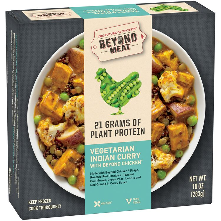 Beyond Meat® Vegetarian Indian Curry with Beyond Chicken®