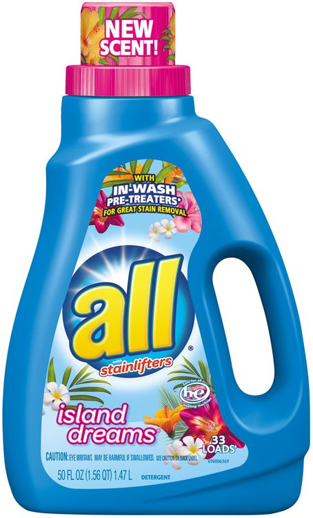all® Island Dreams Laundry Detergent