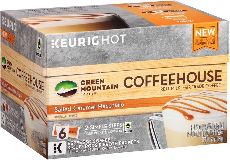 Keurig® Hot Green Mountain Coffee® Salted Caramel Macchiato Coffeehouse Coffee