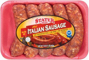 Stater bros Hot Italian