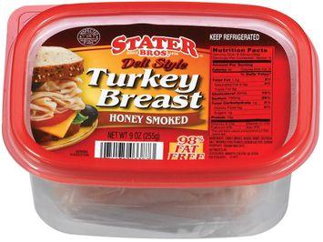 Stater bros Deli Style Honey Smoked Turkey Breast