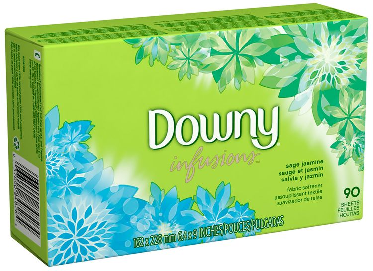 Downy® Ultra Infusions Sage Jasmine Fabric Softener Sheets