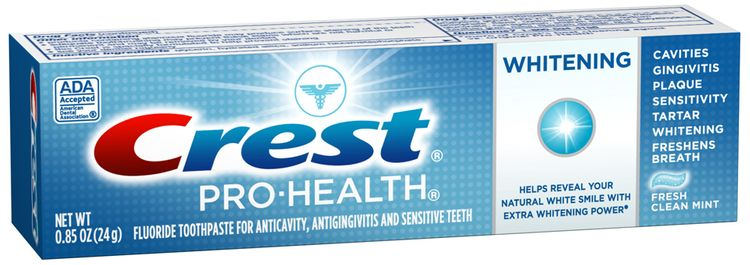 Crest Pro-Health Whitening Fresh Clean Mint Toothpaste