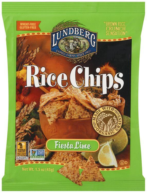 lundberg® fiesta lime rice chips