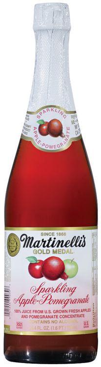 Martinelli's Gold Medal® Sparkling Apple-Pomegranate 100% Juice