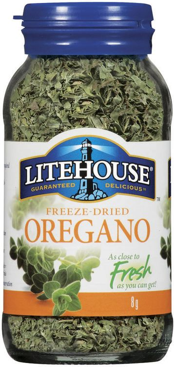 Litehouse Freeze Dried Oregano 8 G Jar