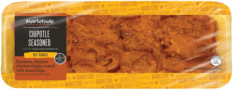 Marketside™ Chipotle Seasoned Dry Rubbed Boneless, Skinless Chicken Thighs