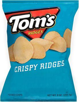 tom's® crispy ridges potato chips