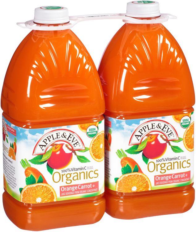Apple & Eve® Organics Orange Carrot Juice