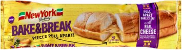 New York® Bakery Bake & Break™ Pull Apart Garlic Loaf with Cheese
