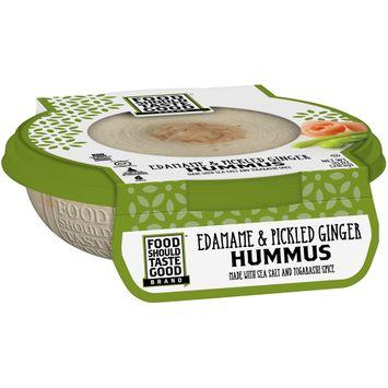 Food Should Taste Good™ Edamame & Pickled Ginger Hummus