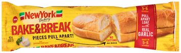 new york® bakery bake & break™ garlic bread