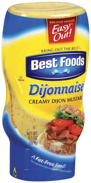 Best Foods Creamy Dijon Mustard Dijonnaise