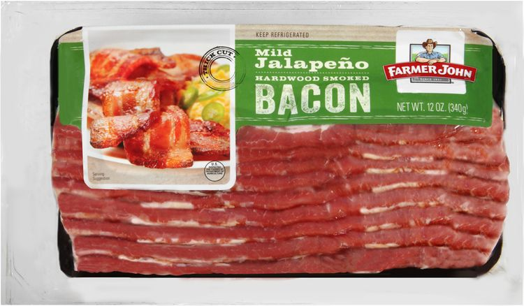 Farmer John® Mild Jalapeno Hardwood Smoked Bacon