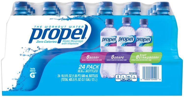 Propel® Berry/Grape/Kiwi Strawberry Workout Water 2 Pack