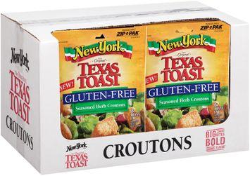 New York Brand® The Original Texas Toast Gluten-Free Seasoned Herb Croutons