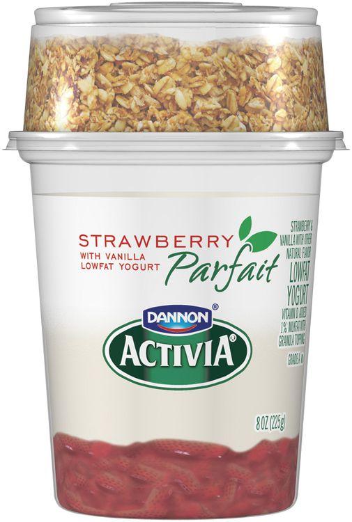 Activia® Strawberry Parfait Yogurt