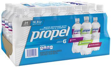 propel® zero calories water beverages variety pack 2 plastic