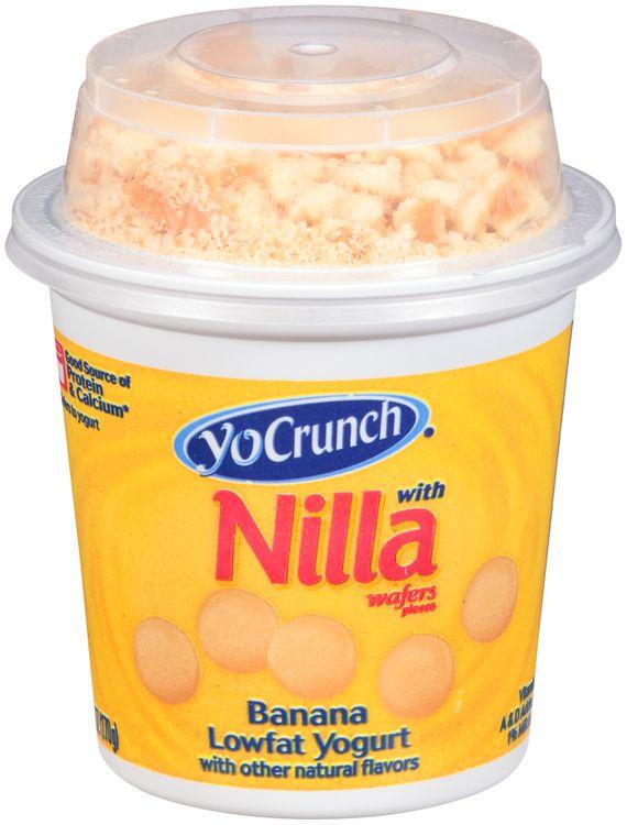 YoCrunch® Banana with Nilla Wafers Pieces Lowfat Yogurt