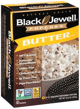 Black Jewell® Butter Flavor Microwave Popcorn s