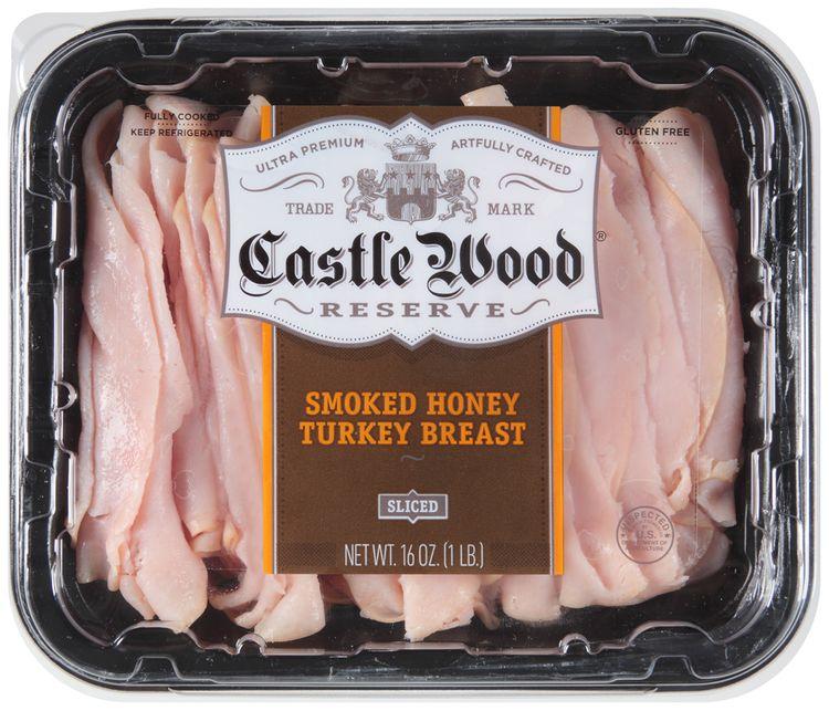 Castle Wood® Reserve Sliced Smoked Honey Turkey Breast