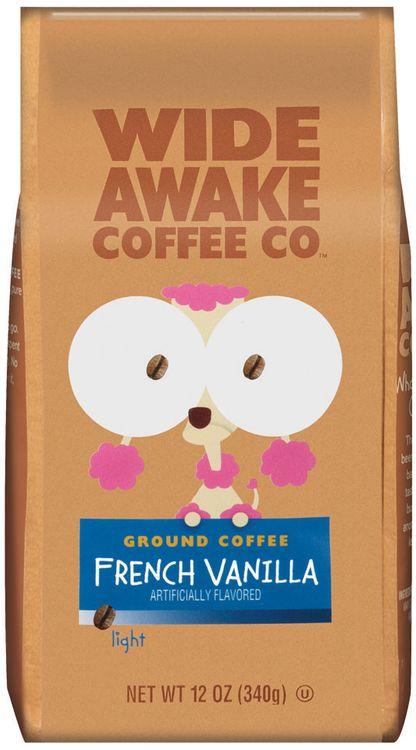 Wide Awake Coffee Company French Vanilla Light Ground Coffee