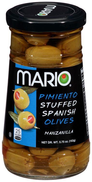 Mario® Pimiento Stuffed Spanish Manzanilla Olives