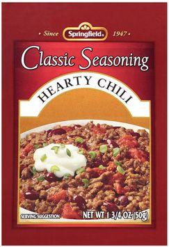 Springfield® Classic Seasoning Hearty Chili