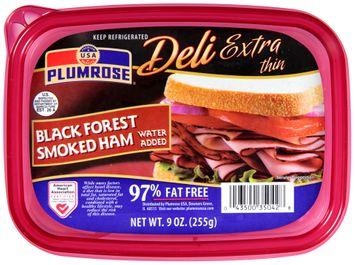 Plumrose® Deli Extra Thin Black Forest Smoked Ham