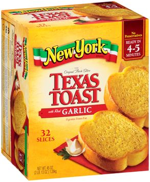 New York® The Original Thick Slice Texas Toast with Real Garlic