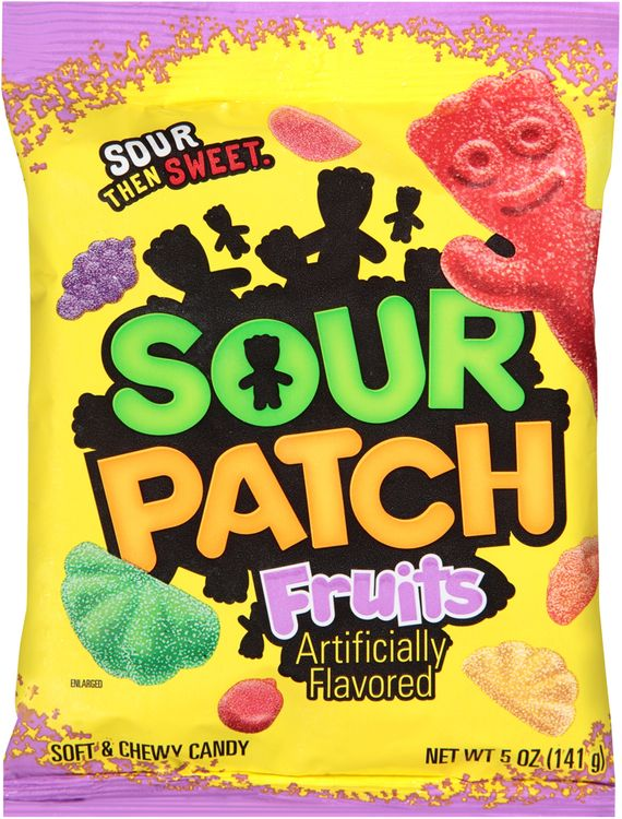 Sour Patch Fruits Soft & Chewy Candy