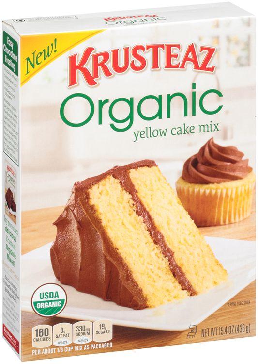 Krusteaz Organic Yellow Cake Mix