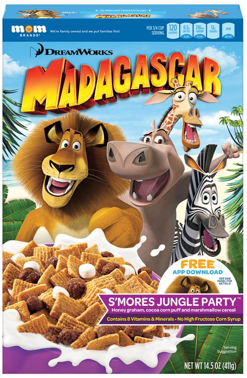 DreamWorks Madagascar S'Mores Jungle Party™ Cereal