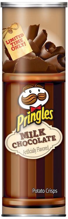 Pringles® Milk Chocolate Potato Crisps