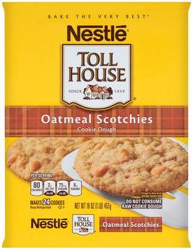 Nestlé® Toll House® Oatmeal Scotchies Cookie Dough