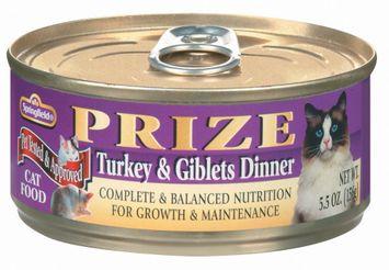 Springfield Prize Turkey & Giblets Dinner Cat Food