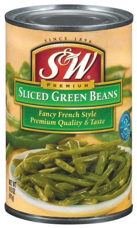 S&W® Sliced Fancy French Style Green Beans