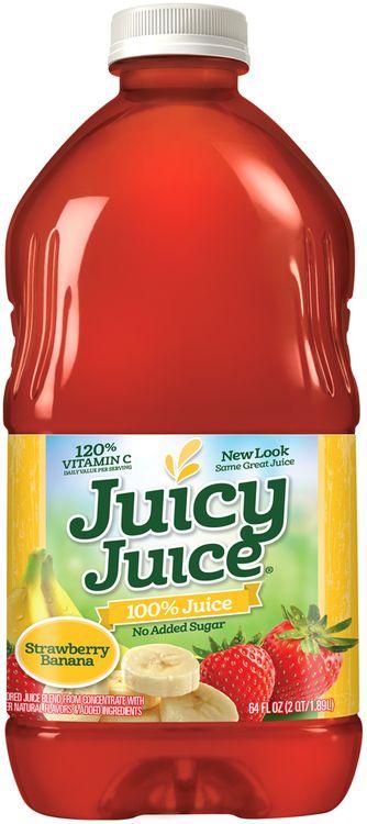 Juicy Juice® Strawberry Banana No Added Sugar 100% Juice