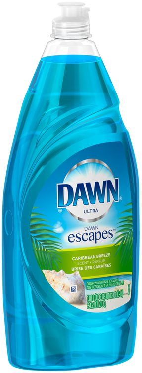 Dawn Ultra Dawn Escapes Dishwashing Liquid Caribbean Breeze