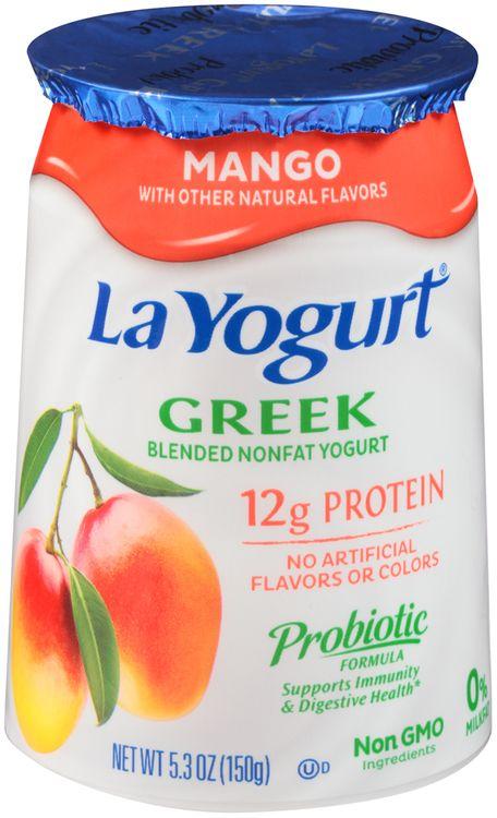 La Yogurt® Mango Greek Blended Nonfat Yogurt