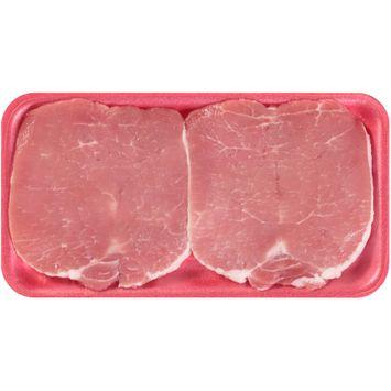Smithfield Boneless Center Cut Butterfly Pork Chops 2 ct Tray