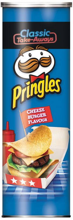 Pringles® Cheese Burger Flavour