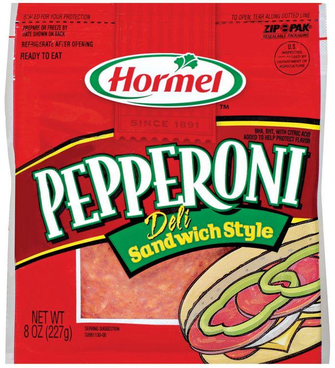 HORMEL Deli Sandwich Style Pepperoni
