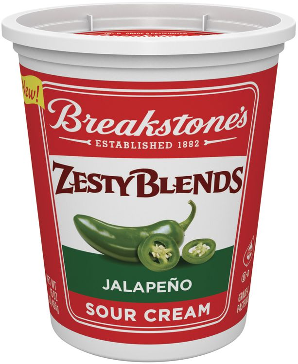 Breakstone's Zesty Blends Jalapeno Sour Cream