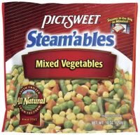 STEAM'ABLES ALL NATURAL Mixed Vegetables