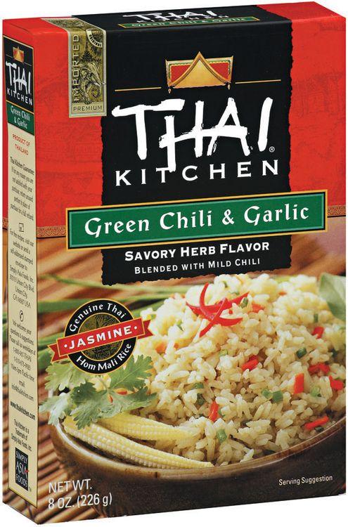 Thai Kitchen TK Green Chili & Garlic Jasmine Rice Jasmine Rices