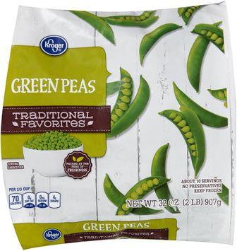 kroger® traditional favorites green peas