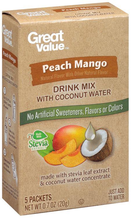 Great Value™ Peach Mango Drink Mix